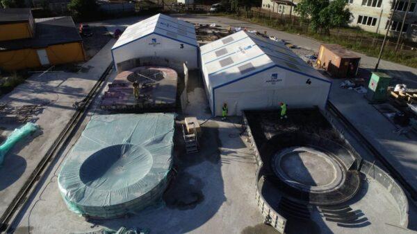Aarsleff BIZ Precast Factory uses Maturix Smart Concrete Monitoring