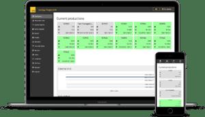 Maturix Precast Dashboard Mockup